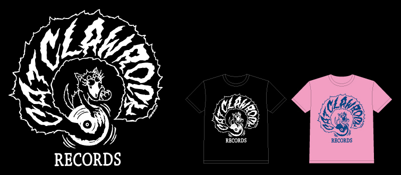 CAT CLAW ROCK Tシャツ